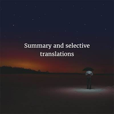 summary translations and selective translations