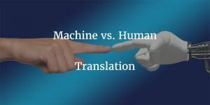 machine vs human translation
