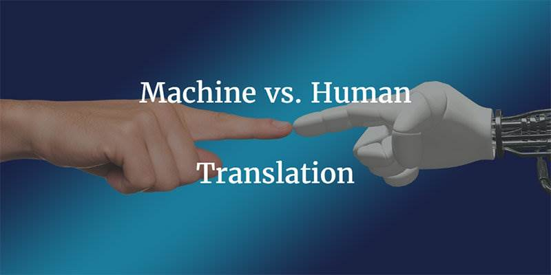 machine vs human translation