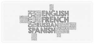 Translation services multi language grey