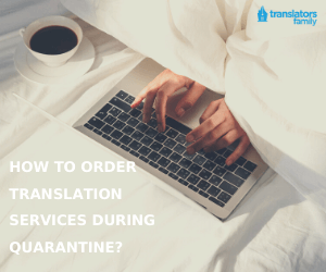 Oder Translators Family services online during quarantine