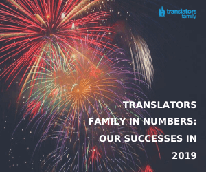 Main Translators Family achieves in 2019