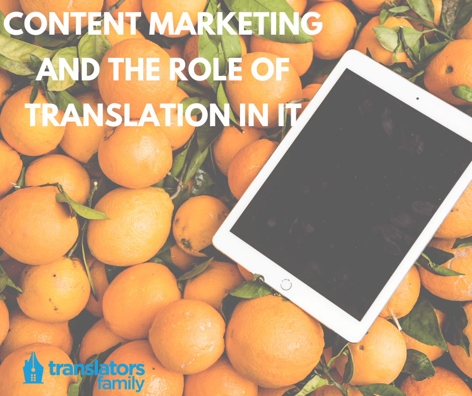 Content marketing and translation services