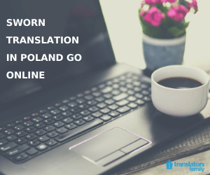 Offer sworn translation online