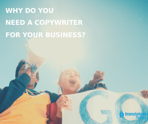 why do you need a copywriter for your business