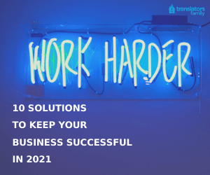 10 Solutions To Keep Your Business Successful in 2021