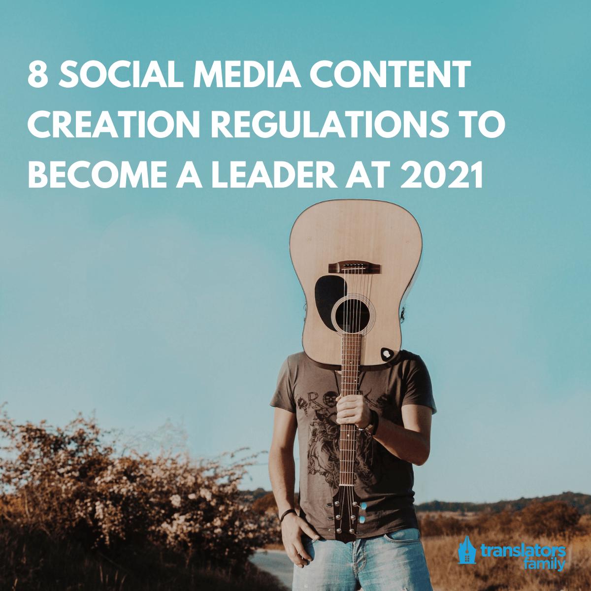 social media content in 2021